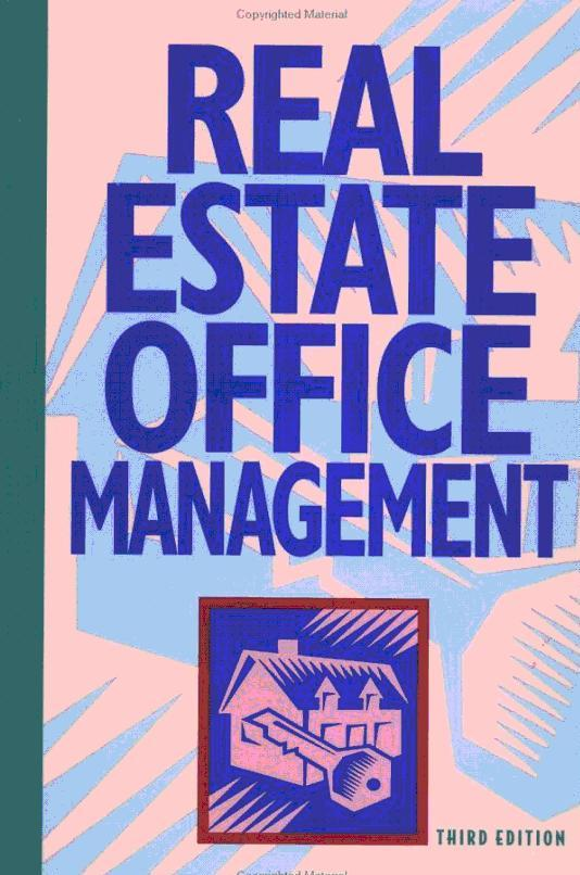 Real Estate Office Management, 4E